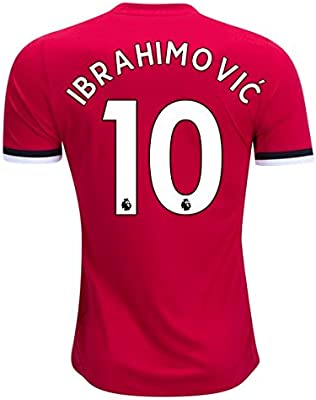 sports shoes b3403 40308 ZLATAN IBRAHIMOVIC #10 MANCHESTER UNITED HOME ...