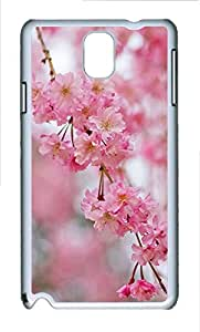 Cases For Samsung Galaxy Note 3 - Summer Lovely Customize A Bouquet Of Red Flowers PC White Cases