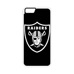 iphone6 4.7 inch Phone Case White Oakland Raiders JHL289433