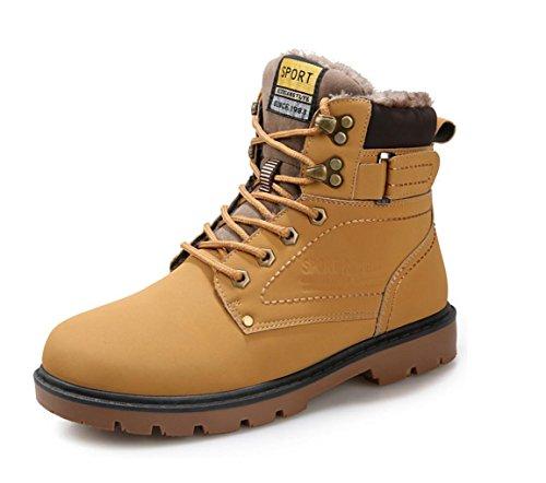 WZG Los cargadores de Martin de los nuevos hombres calzan la tendencia caliente de los zapatos de los hombres Brown