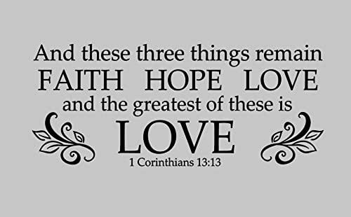 amazoncom and these three things remain faith hope love