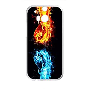 Happy Fiece Fight Custom Protective Hard Phone Cae For HTC One M8