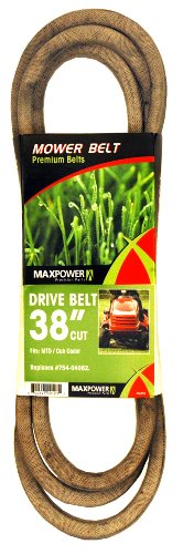Maxpower 336350 Mower Belt for MTD, Cub Cadet and Troy-Bilt Models 754-04062 and - Lawn Parts Mower Riding Mtd