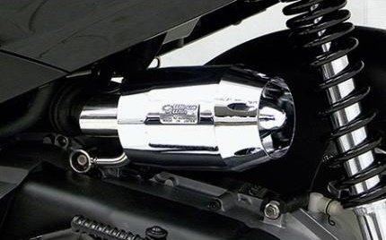 ウイルズウィン アクシストリート ブリーズタイプエアクリーナーキットブラックメッキ   B00RGK1KJ2