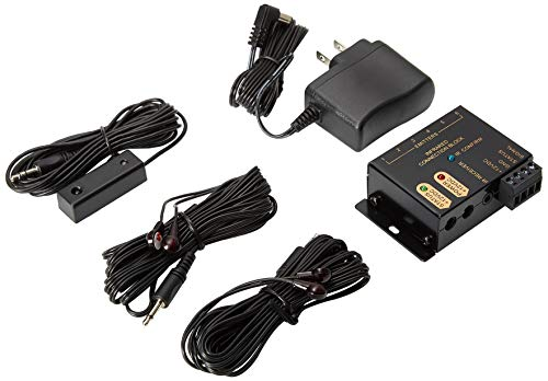 """IR Repeater System - Hidden IR Control System for Home Theater Infrared Extender System Kit, Black"""