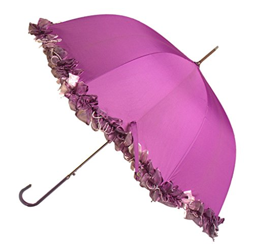 Generic Dourable Windproof Umbrella Size 54inch Color Rose by Generic