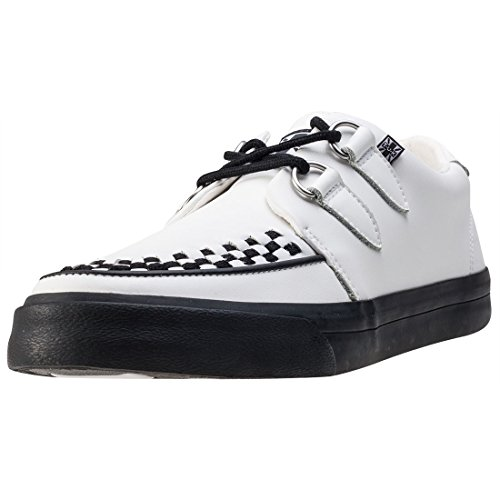 Vlk Shoes Sneaker T White u k Creeper Leather PX1aSX
