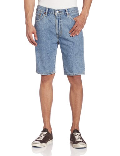 - Levi's Men's 505 Regular Fit Short, Light Stonewash, 36