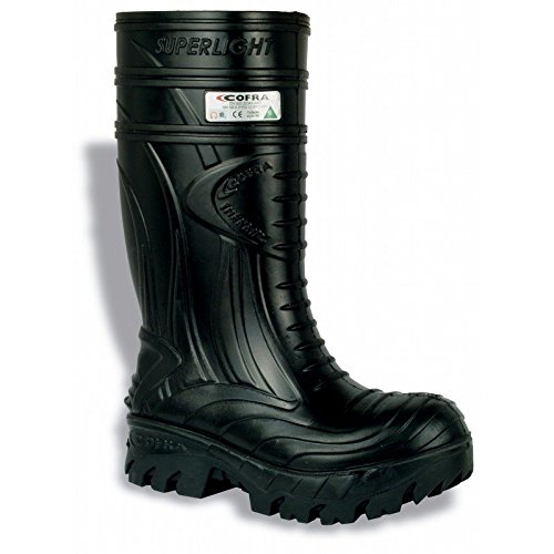 Cofra 00040-CU3.W11 Thermic Metguard EH PR Safety Boots, 11, Black