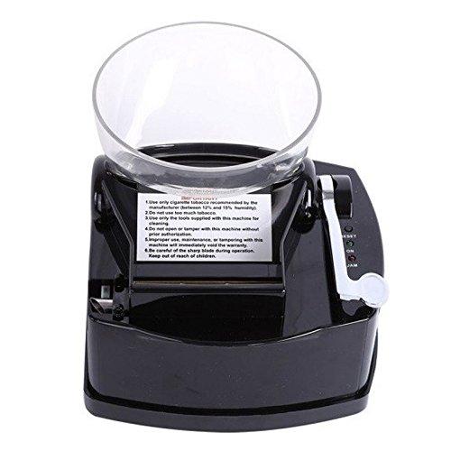 Spespo Automatic Cigarette Injector Machine Make King Size Cigarette - Black