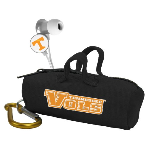 NCAA Tennessee Volunteers Scorch Earbuds with Bud Bag