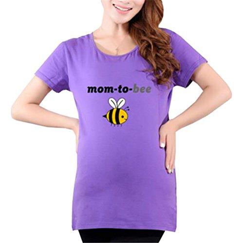 Donna Magliette Estive Maternit di AILIENT Maternity ORpzq