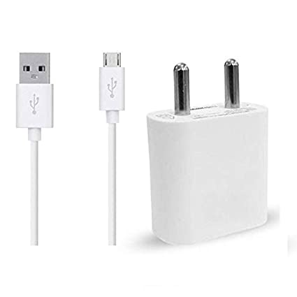RICHER BRAND 1.5 Amp Mobile Charger Wall Charger Single Port USB  amp; Adapter with 1.2m Micro USB Cable Compatible with Panasonic Eluga P9