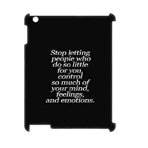 3D IPad 2,3,4 Cases Bible Quotes, Bible Quotes [White]