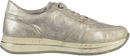 Oxfords Platinum D2501 Silver Remonte Women's 90 wRxYnH6q