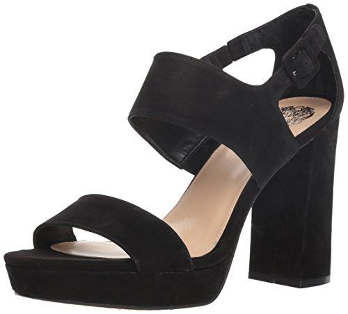 Vince Camuto Women's JAYVID Heeled Sandal, Black, 9 M US