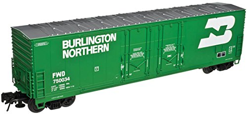 Atlas HO Scale Evans 53' Double Plug-Door Boxcar Burlington Northern/BN (Double Plug Door Boxcar)