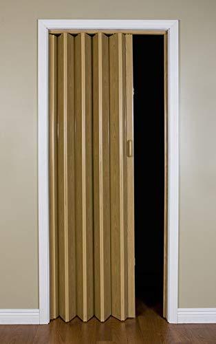 LTL Home Products MLB3680K Malibu Interior Accordion Folding Door, 36'' x 80'', Oak, by LTL Home Products