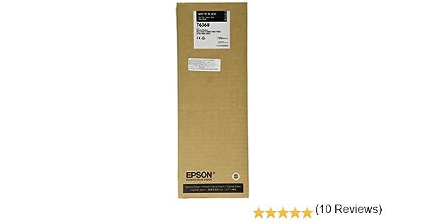 Epson C13T636800 - Cartucho de tinta, color negro mate: Amazon.es: Oficina y papelería