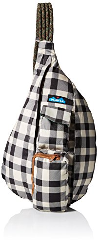 KAVU Rope Sling Backpack, Bw Plaid,