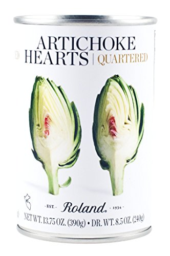 - Roland Foods Artichoke Hearts, Quartered, 13.75 Ounce (Pack of 12)