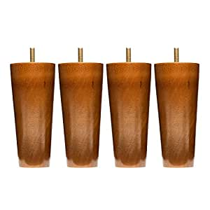 Amazon Com Sofa Legs Set Of 4 Round 5 Inch Replacement