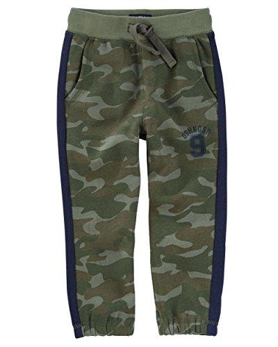 OshKosh B'Gosh Boys' 2T-7 Classic Fit Cinch Belt Pants Camoflauge 2T (Belt Camoflauge)
