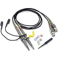 Sondas de clip de osciloscopio RioRand PP150 a 100 MHz con kit de accesorios (paquete de 2)