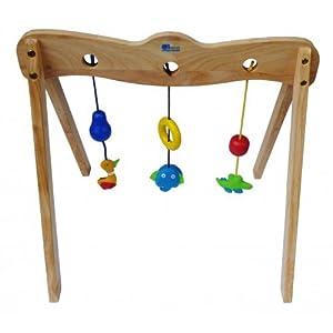 QToys Australia Wooden Baby Gym (Wooden Toys) by QToys