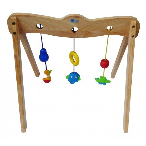 QToys Australia Wooden Baby Gym (Wooden Toys) by QToys (Wooden Baby Gym)