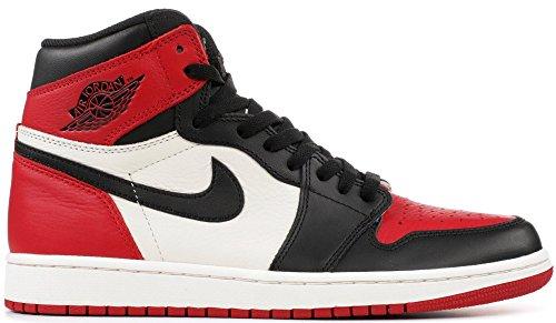 Air Jordan 1 Retro High OG Bred Toe (9) by Stadium Goods