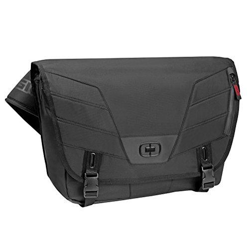 Ogio Pagoda M Laptop/Tablet Messenger Bag (Black, Medium)