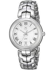 TAG Heuer Womens WAT1314.BA0956 Analog Display Quartz Silver Watch