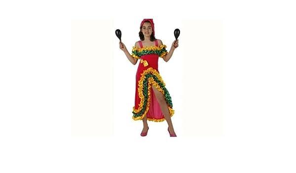 Desconocido Disfraz de bailarina brasileña para niña: Amazon.es ...