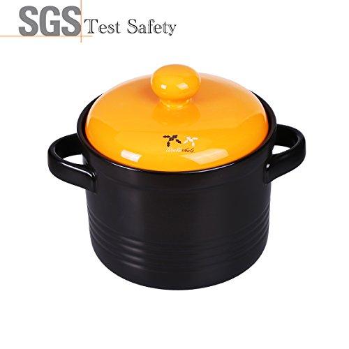 yellow ceramic cookware - 9