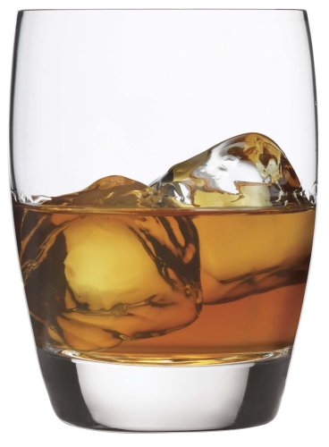 Bormioli Glass Luigi Fashioned Old - Luigi Bormioli 10240/01 Michelangelo 15.75 oz Double Old Fashion Glasses, Set of 4, Clear