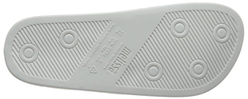 Melissa Beach Slide Rainbow 20, Sandales Bout Ouvert Femme Blanc (White Unicorn 53299)