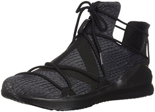 Black puma Fierce Black Pour Puma Rope Pleats Femmes Chaussures FnxavwZ