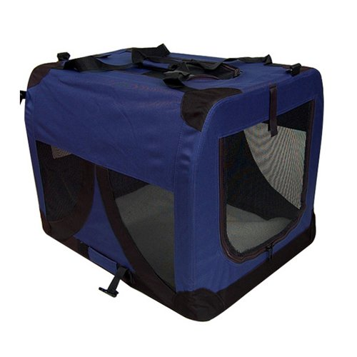 Large Pet Dog Carrier Cat Travel Storage Bag Foldable Portable Soft Crate Puppy Animal Outdoor Camping Transport Cage
