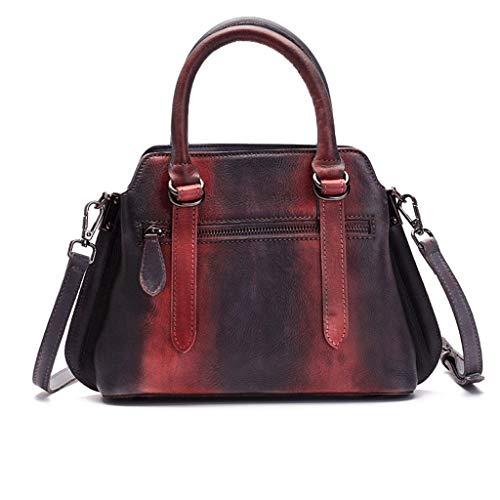 Messenger Bag 2 3 Casual Bolso De Tamaño color S Señora Retro qEFtRRSw