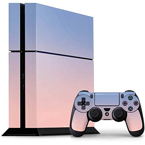 Solids PS4 Console and Controller Bundle Skin - Rose Quartz & Serenity Ombre | Skinit Patterns & Textures ()