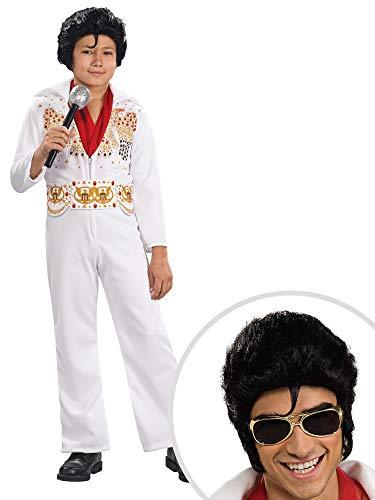 Elvis Costume Kit Kids Small With Elvis Glasses