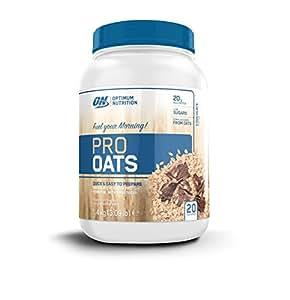 Optimum Nutrition Harina de Avena y Proteína Whey en Polvo de Sabor Chocolate - 1,4 kg