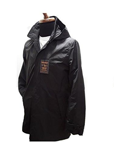 Cappuccio fango Con Car Club Wocps2558 Impermeabile coat Woolrich Grey Estivo Uomo Military 1016 Trench grigio 6zS8wq8