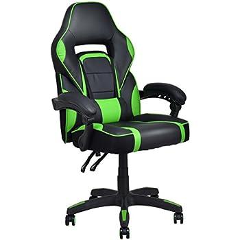Amazon Com Merax Ergonomic Gaming Chair Racing Style