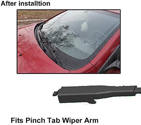 Xukey 20'' 20'' Front Windshield Wiper Blades Fit For BMW 1 Series E81 E82 E87 E88 Mini R58 R59 (Set of 2)