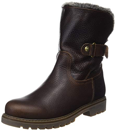 Brown Marron Femme PANAMA JACK Bottines Felia B45 CXXqg7wUx
