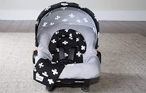 Carseat Canopy Whole Caboodle Jersey Stretch - Ethan
