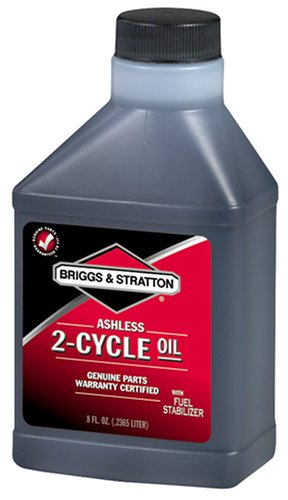Briggs & Stratton 2-Cycle Oil - 8 Oz. 272075 (Best 2 Stroke Lawn Mower)