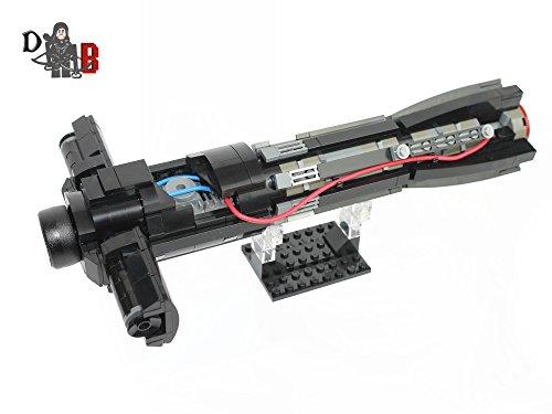 Star Wars Kylo Ren Force Awakens Lightsaber hilt Made Using Lego Parts (Lego Custom Star Wars The Force Awakens)